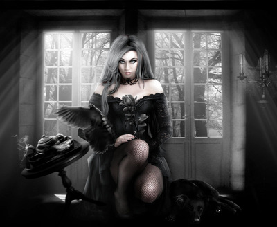 dark black by babsartcreations d5ip7wb