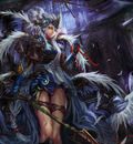 fantasy angel warrior