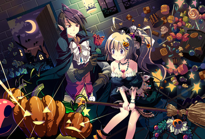 cleavage halloween yamadori yoshitomo