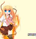 blonde hair blue eyes school uniform tagme yellow