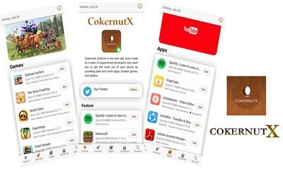 Cockernutx app