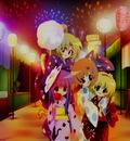 festival fireworks furude rika hanabi higurashi no naku koro ni houjou satoko mask rainbow ryuuguu rena sonozaki mion