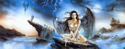luis royo prohibited book2 fallen angel