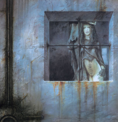 luis royo prohibited book2 flights prelude