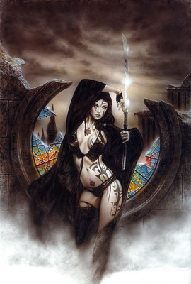 luis royo subversive beauty goddess ama no uzume and dawn