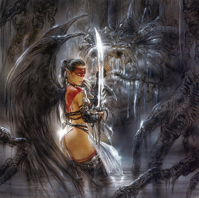 luis royo subversive beauty the devil beneath sketch