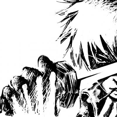 Gintama Hijikata Toshirou by Mizudo
