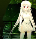 Konachan com 3044 elbow gloves gloves pointy ears sword thighhighs zettai ryouiki