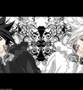 allen walker black d gray man white